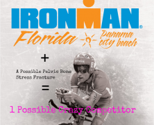 Ironman Florida Here I Come Pubic Bone Stress Fracture or Not