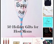 50 Holiday Gifts for Host Moms