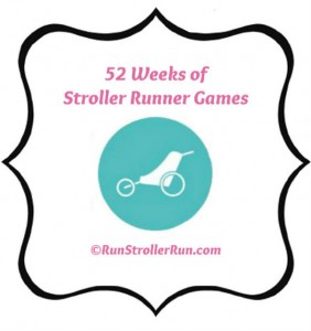 52 Weeks of Stroller Runner Games with Stencil Label