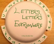 52 Weeks: #7 Letters, Letters Everywhere