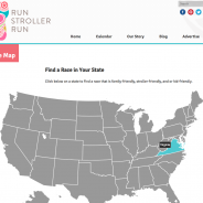 Exciting News! Run Stroller Run's New Website Launched